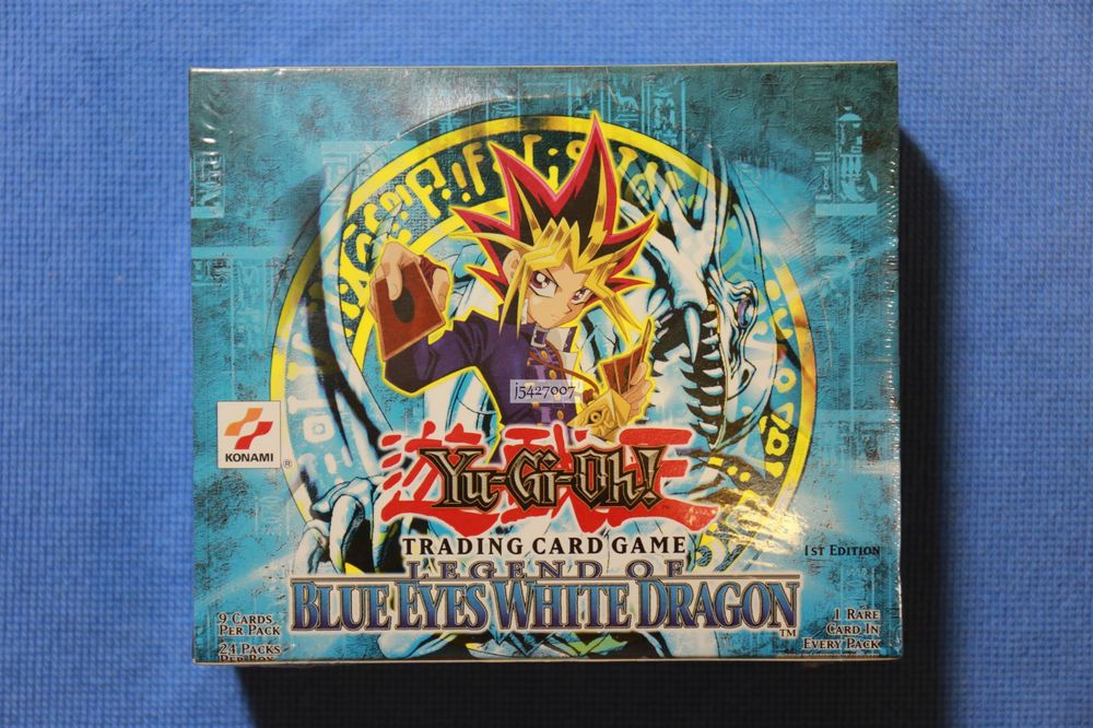 YUGIOH 1ST EDITION THE SECRETS OF ETERNITY Booster Box 24ct SEALED!!
