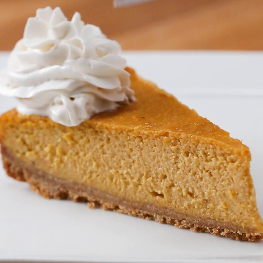 Vegan Pumpkin Cheesecake Recipe By Tasty Recipe Pumpkin Cheesecake Recipes Vegan Pumpkin Cheesecake Recipe Vegan Pumpkin