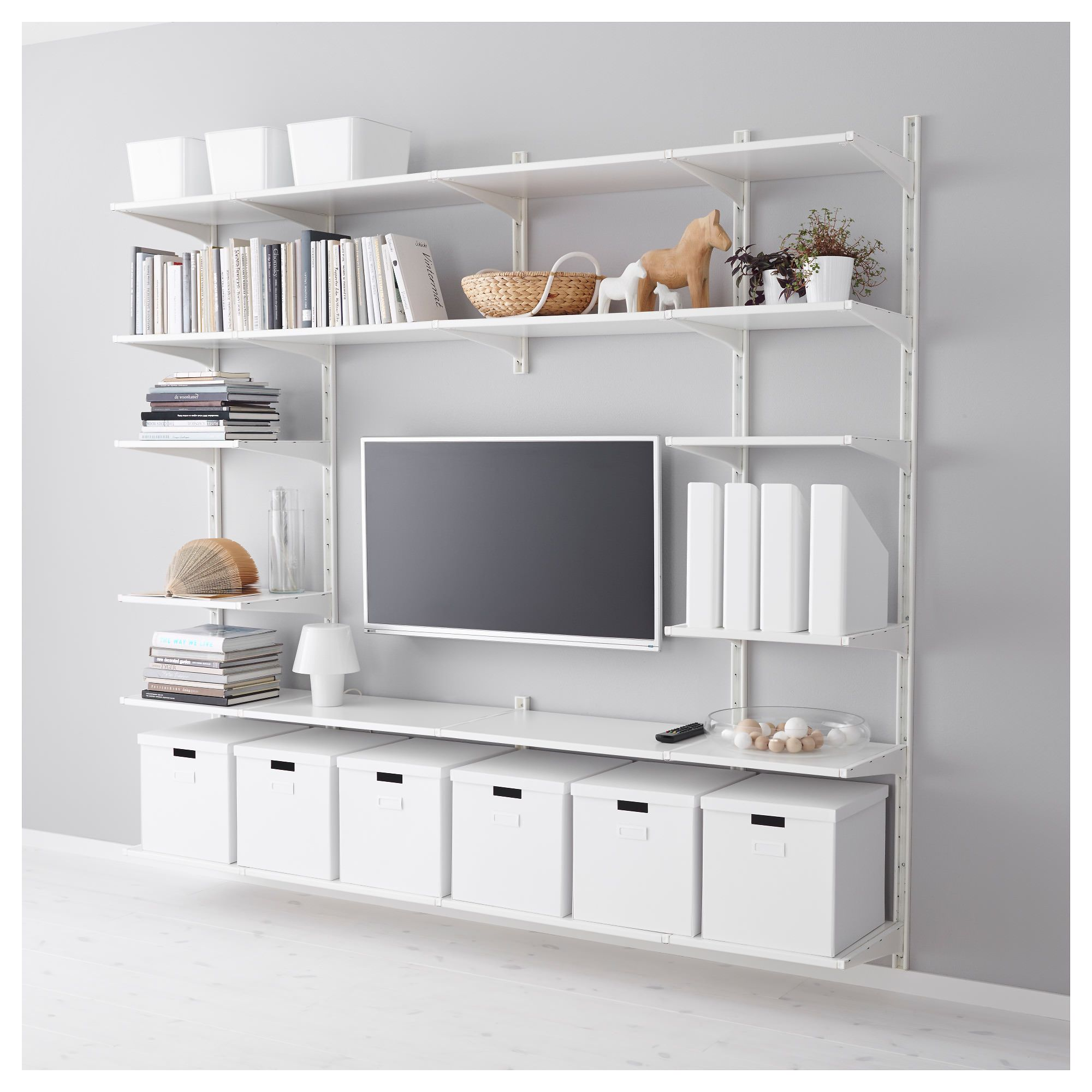 Shop For Closet Systems At Ikea Our Algot System Is