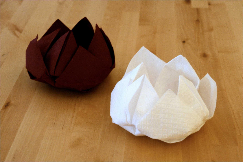 8 Calme Pliage Serviette En Papier Pics