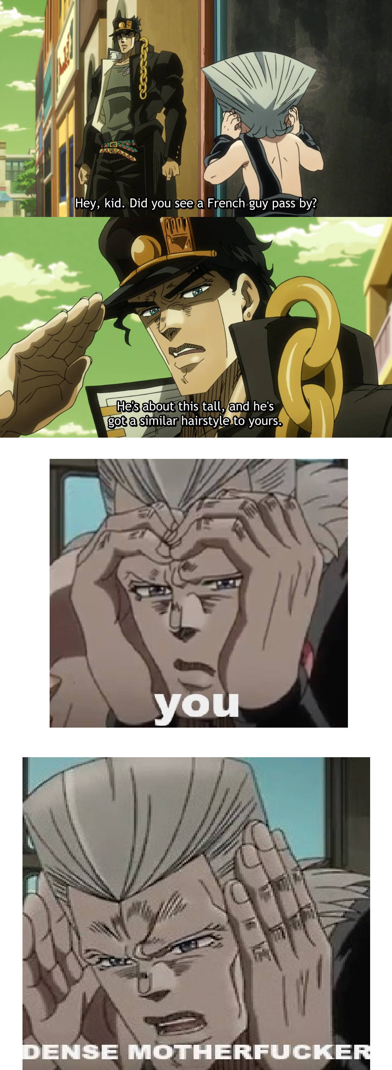 Jotaro, I Know Youre Not Kakyoin But Seriously