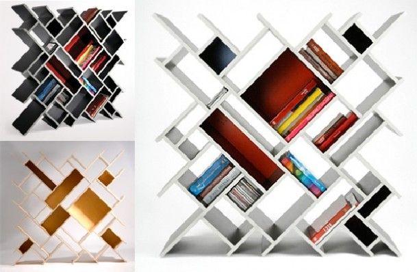 Hippe design boekenkast Door Emma81