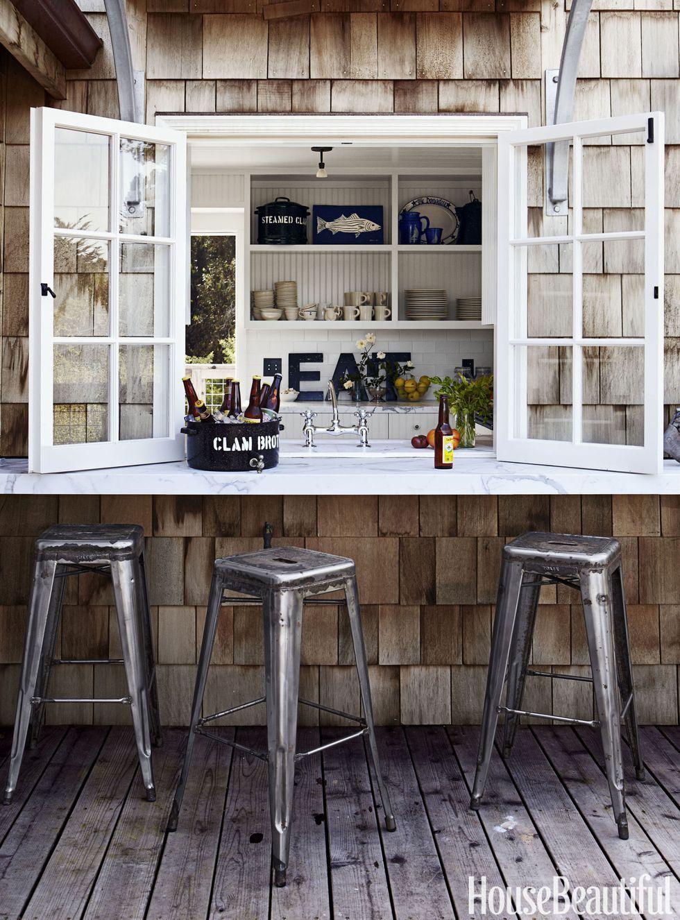 incredible outdoor kitchen ideas garage pinterest house