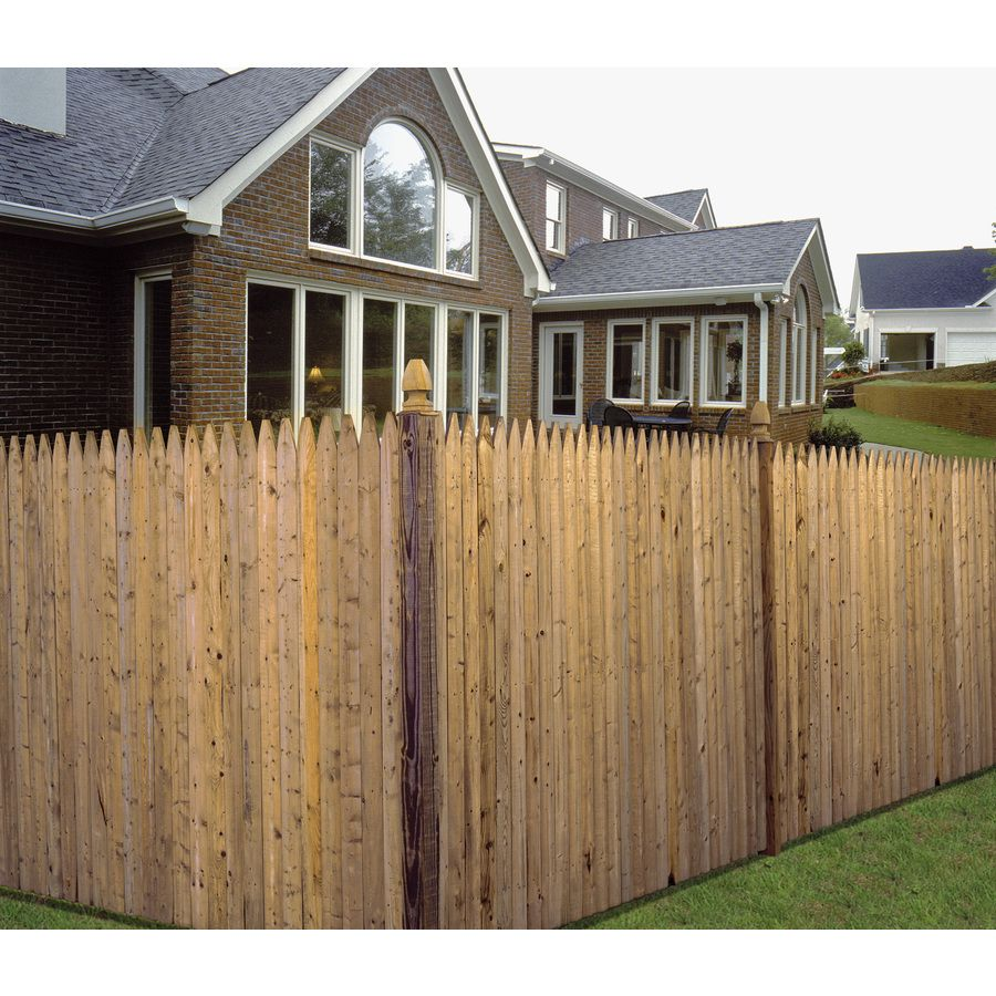 Shop Severe Weather Spruce Pine Fir Stockade Pressure Treated Wood
