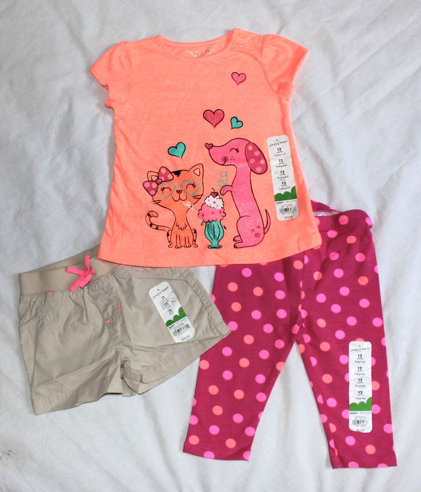 Clothing, Shoes & Accessories Toddler Baby Girl Pink Polka Dot Shorts 12 Months Girls' Clothing (newborn-5t)