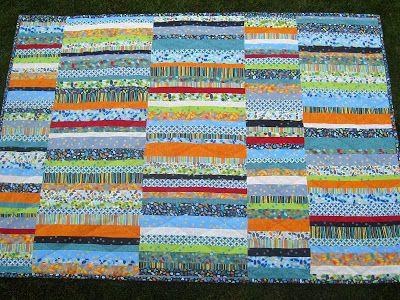 Love this simple design  Meadow Dew: Barcelona  @Zen Chic, modern quilts by Brigitte Heitland @ModaFabrics