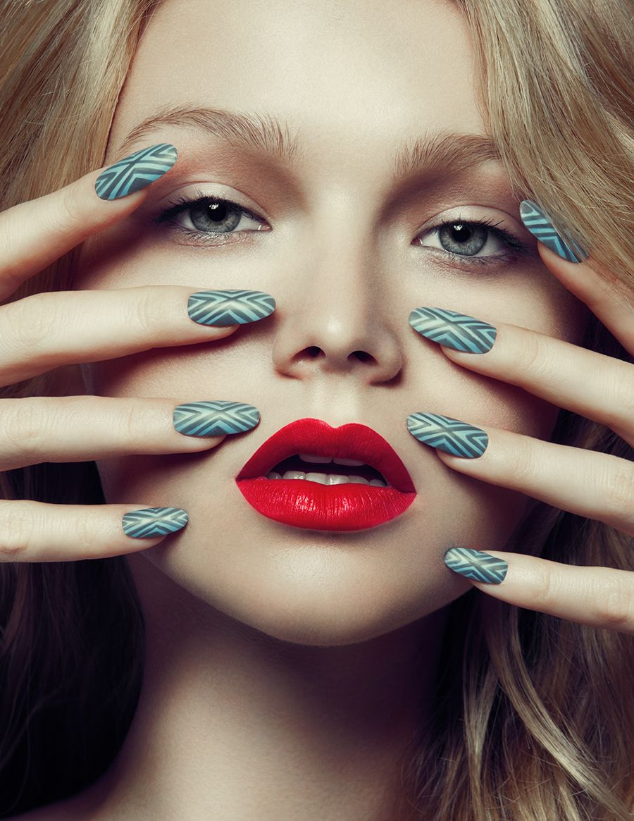 Sexy fierce red lips make-up | Make-up | Pinterest | Nails ...