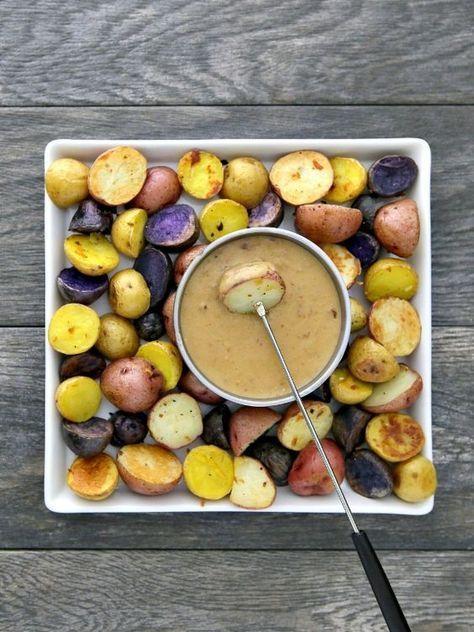 Irisches Kartoffelfondue-Rezept #fondue