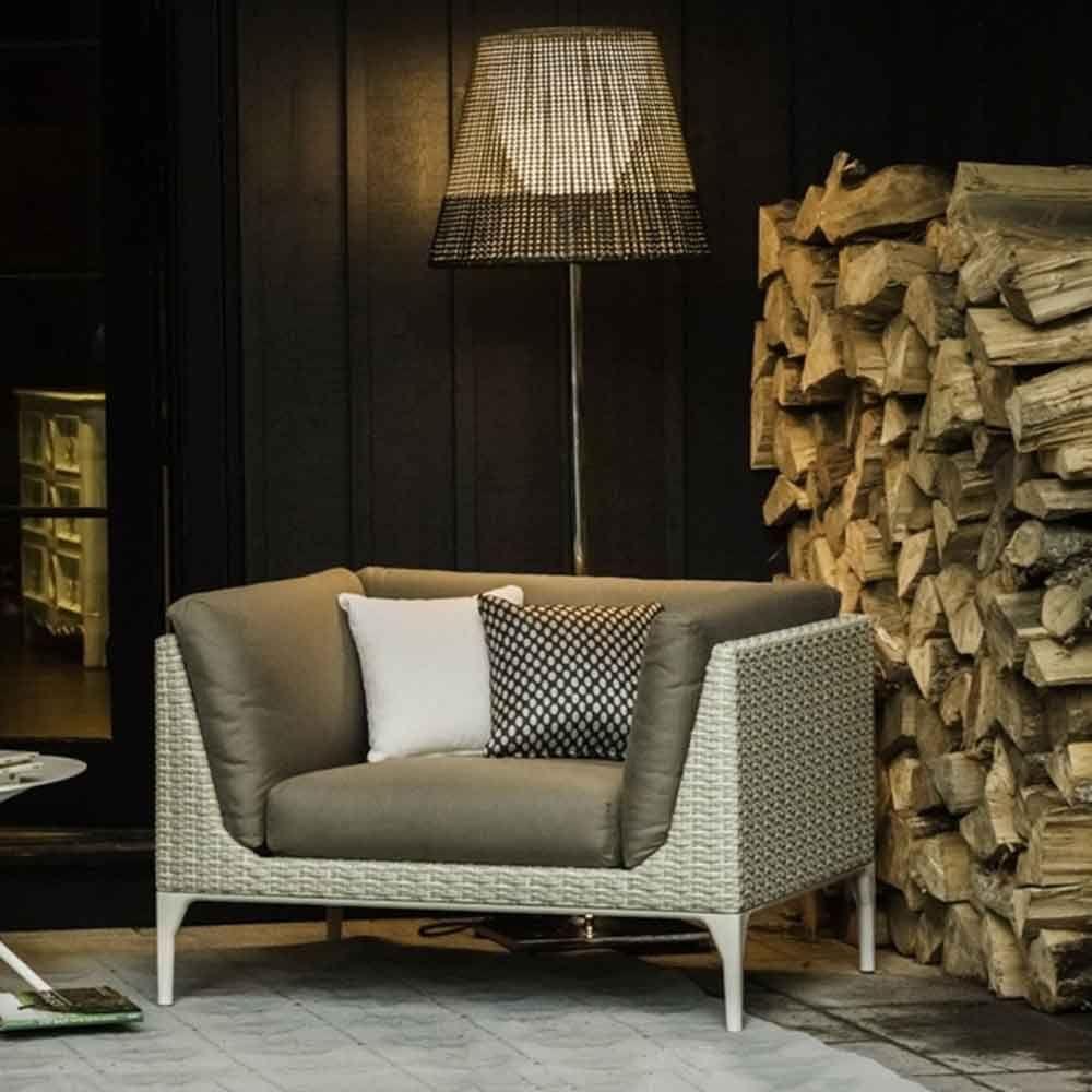 H H Studio Dubai Mu By Dedon Lounge Chair Outdoor Lounge Furniture Ottoman Furniture [ 1000 x 1000 Pixel ]