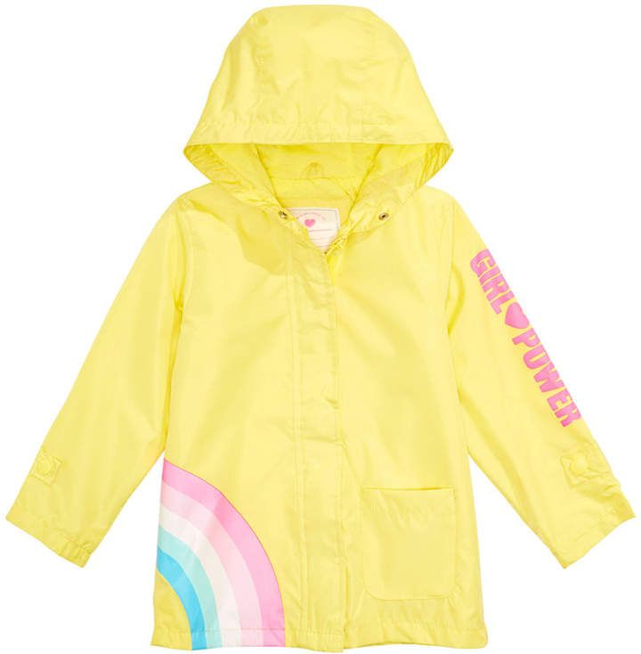 classic shoes select for original thoughts on Toddler & Little Girls Hooded Rainbow Rain Jacket | Products ...