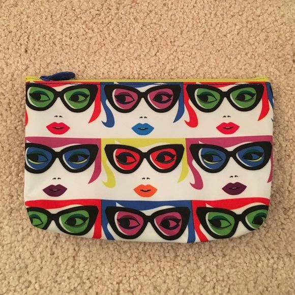 January 2016 Ipsy Makeup Bag Super cute pop-art Ipsy bag from January 2016! Feel free to make an offer!  ipsy Bags Cosmetic Bags & Cases