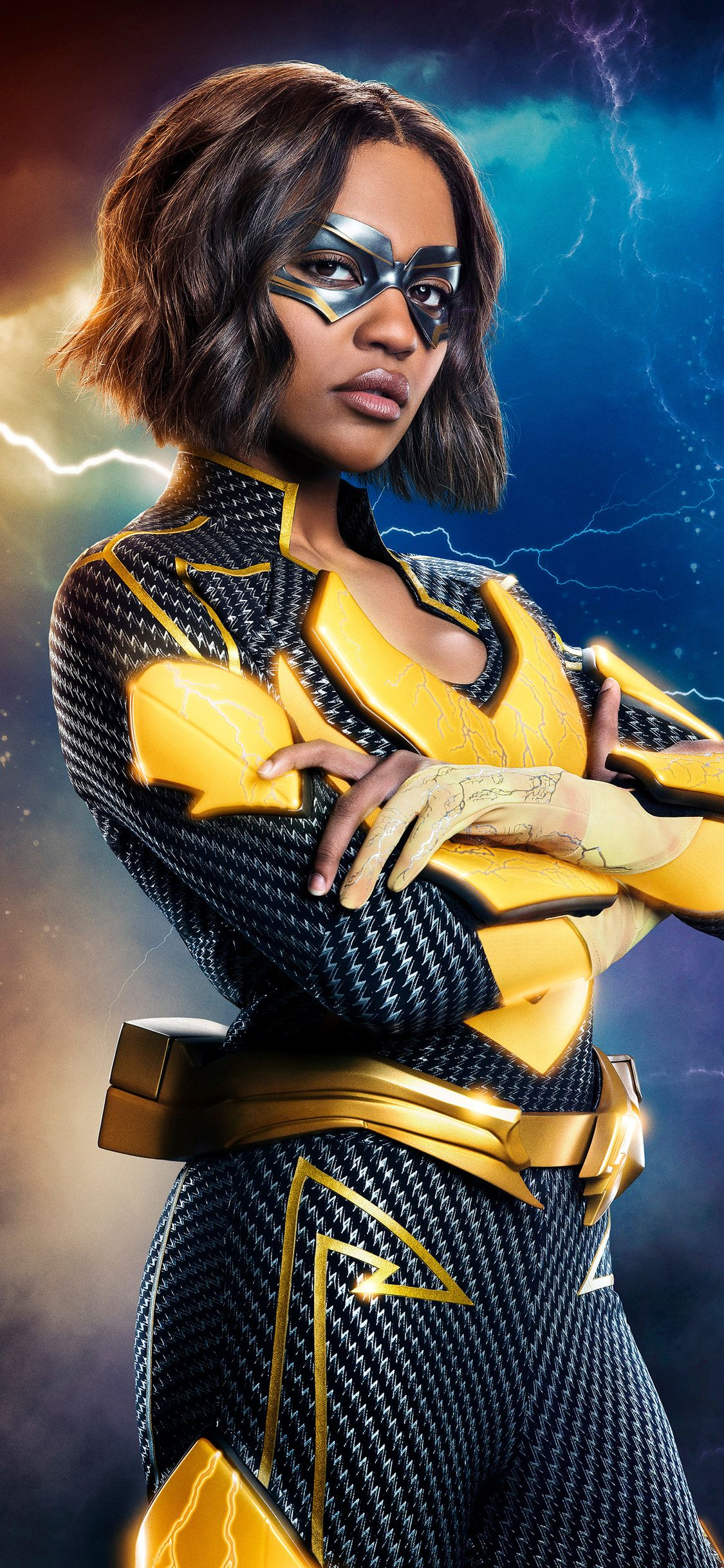 1125x2436 China Anne Mcclain In Black Lightning Iphone Xs Iphone 10 Iphone X Hd 4k Wallpapers Images Backgrounds China Anne Mcclain China Anne Anne Mcclain