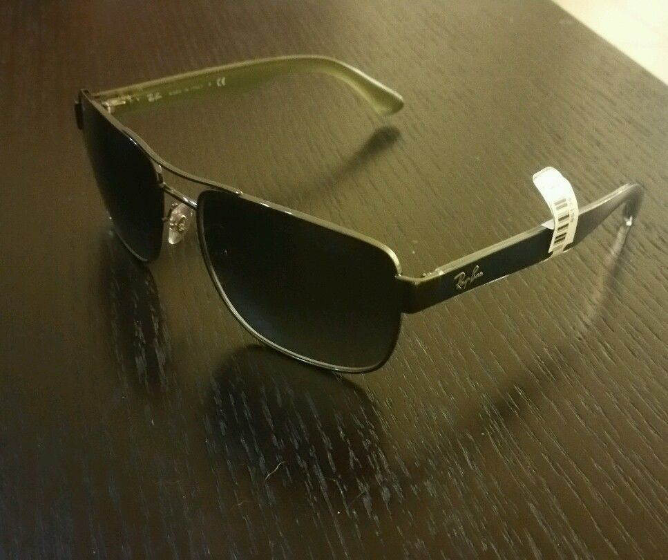 e37240f8ba New Ray ban RB3530 men s sunglasses black color  180 made in italy ...