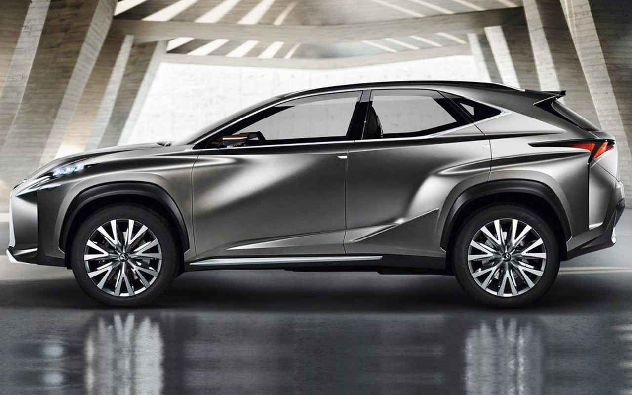 2018 Lexus NX F Sport Concept Side View Goals First car