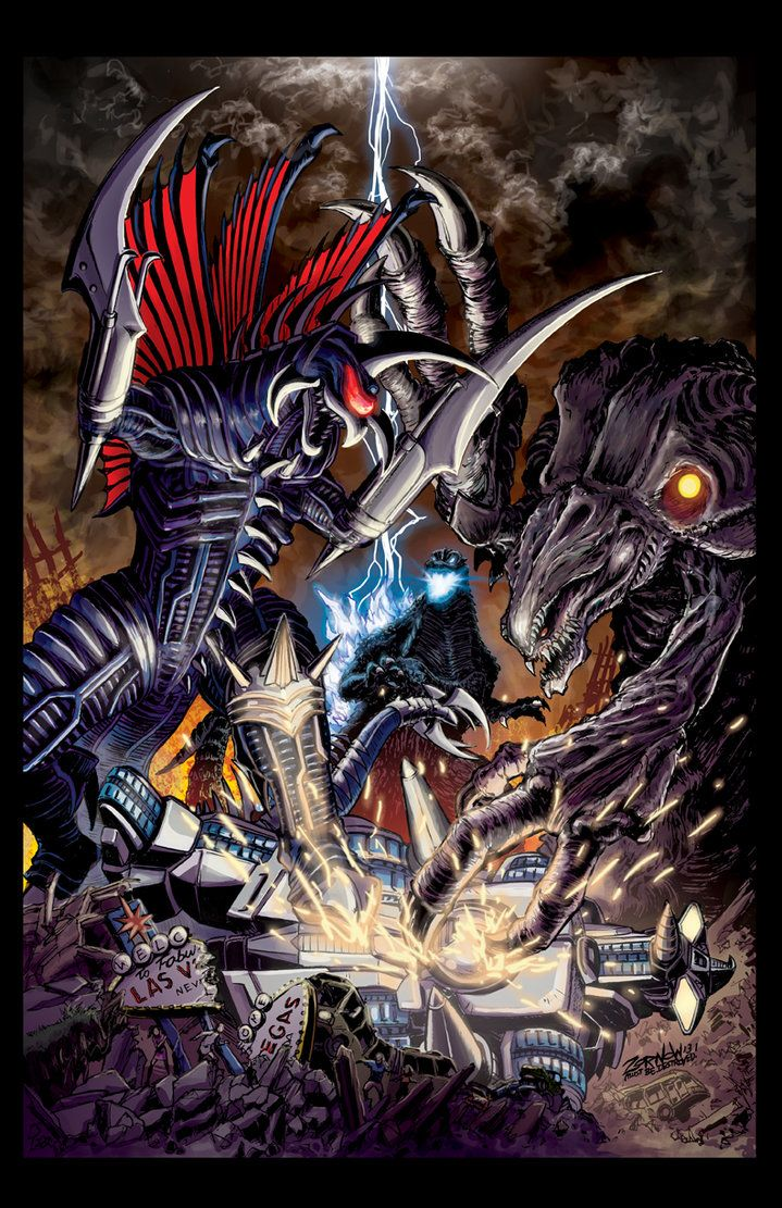 GODZILLA:RULERS OF EARTH #6 COVER by Zornow on deviantART