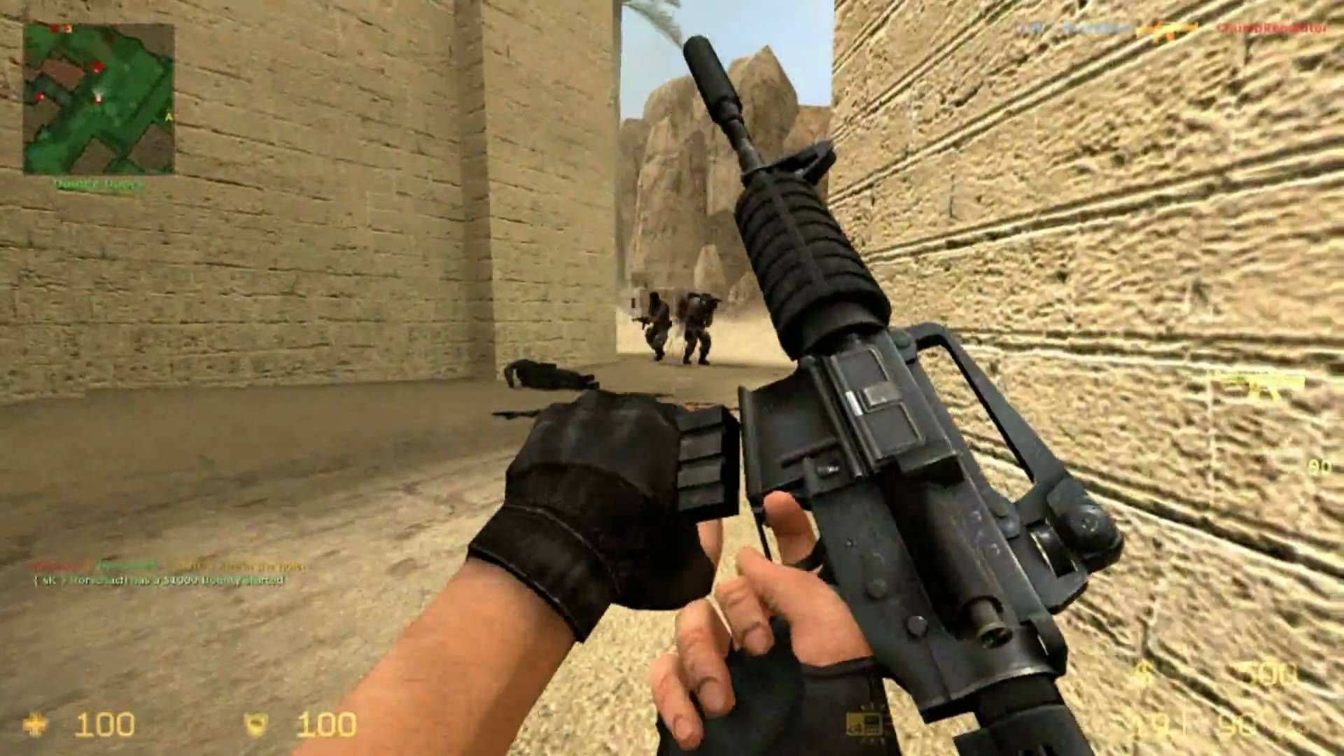 Counter Strike Source Gameplay Dust2 Map With Images Counter