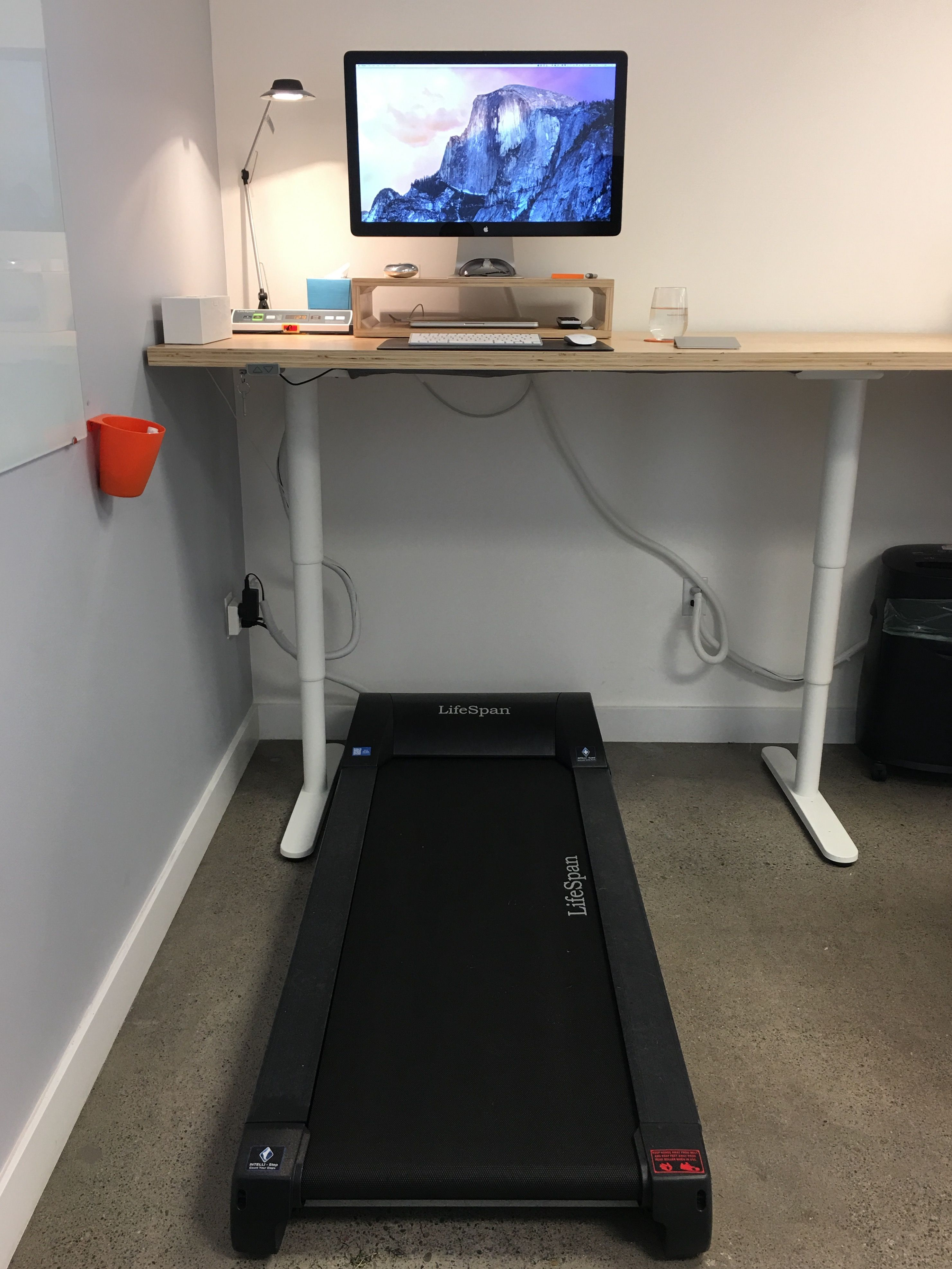 using desk treadmill doing diary under while sport cheap working
