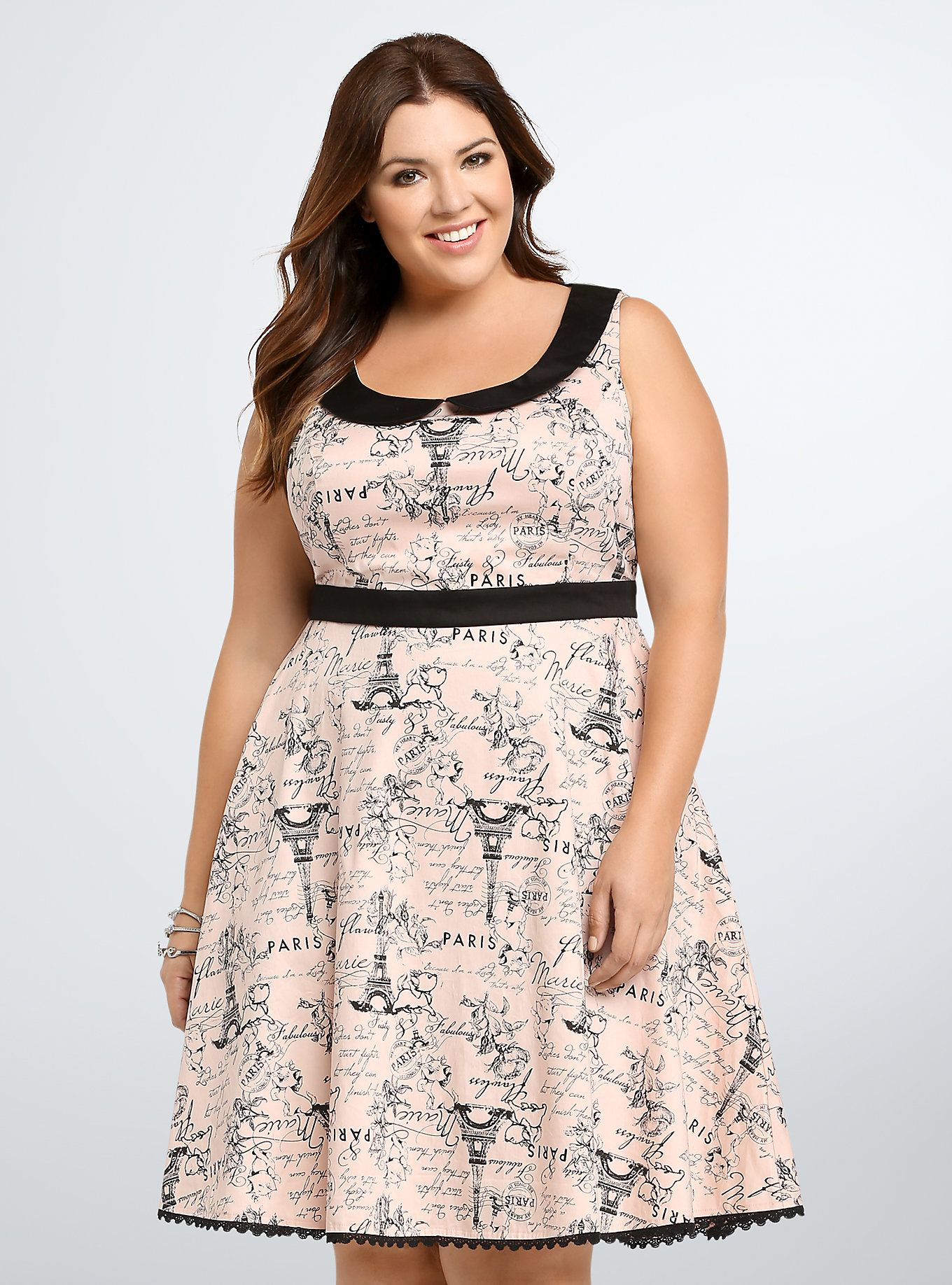 27dcbf46d28 Disney Collection Aristocats Graphic Skater Dress