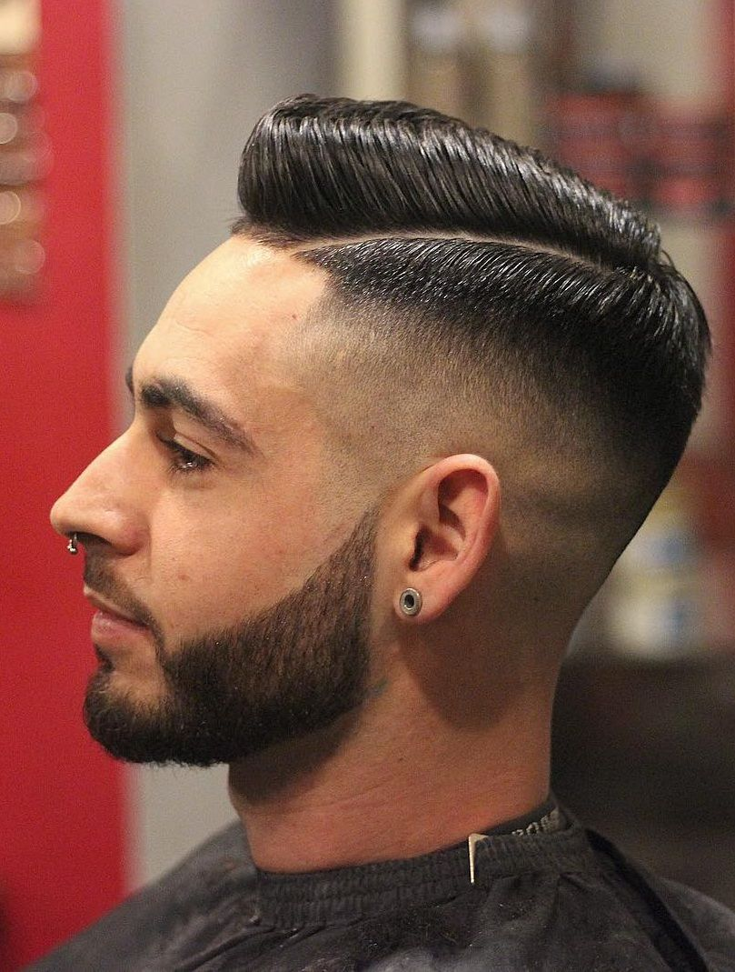 19 Popular Side Fade Haircuts For Men To Try In 2020 Boys Fade Haircut Mens Haircuts Fade Men Haircut Styles