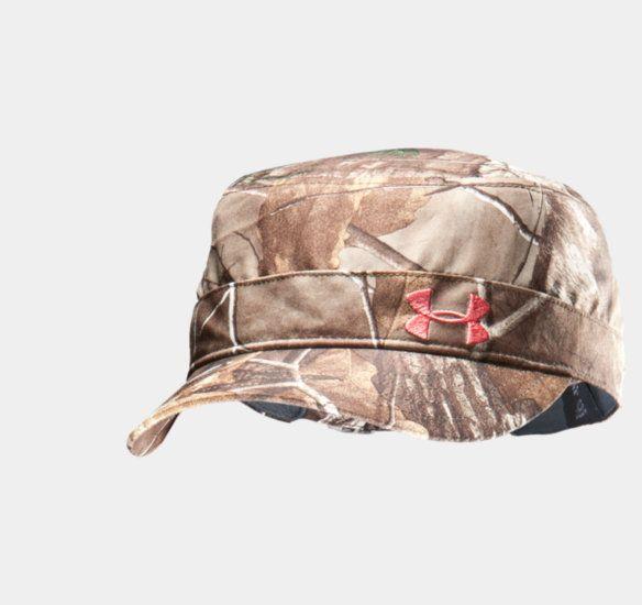 Women's Camo Versa Military Cap