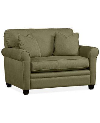 Kaleigh Fabric Twin Sleeper Chair Bed - Custom Colors