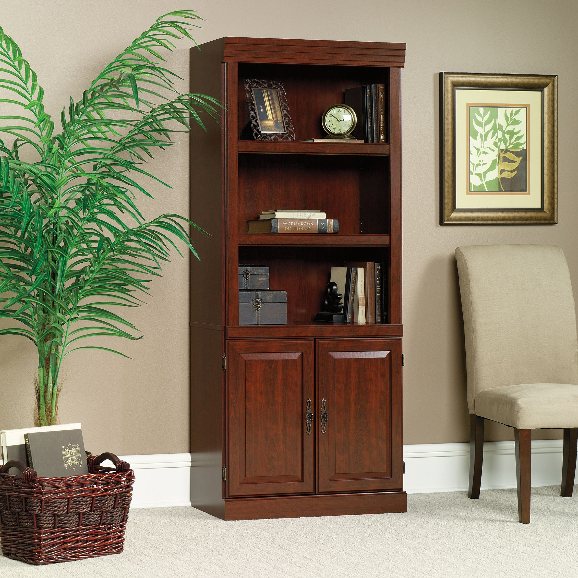 Sauder Cherry Bookcase Best Way to