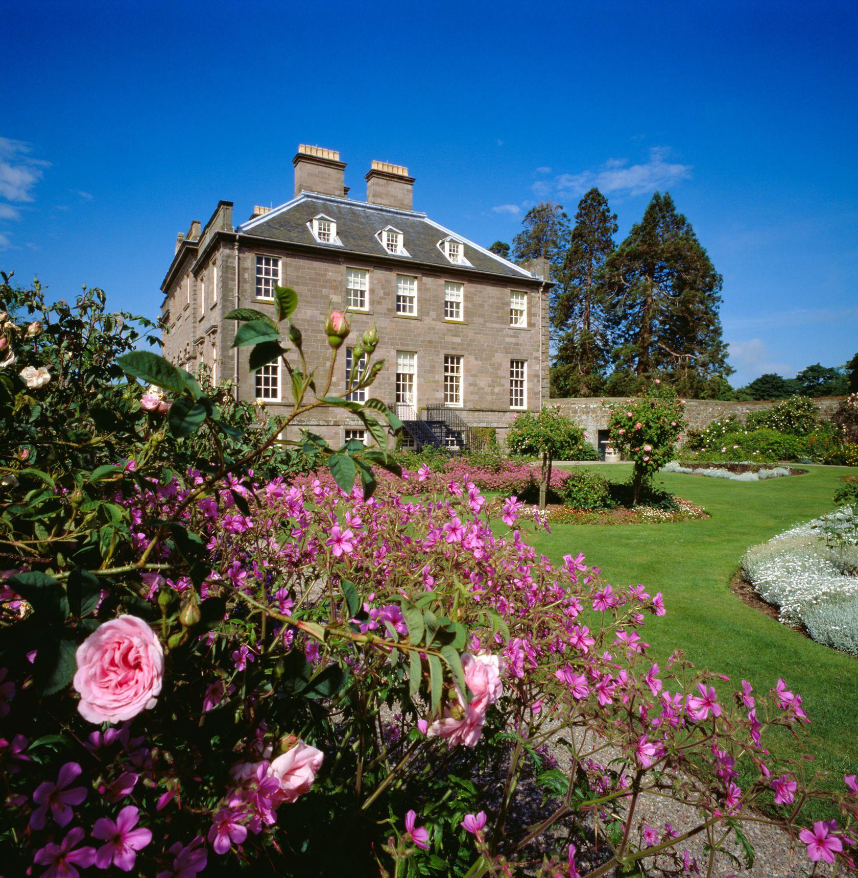 House of Dun, Montrose, Angus Chester hotel, Scottish
