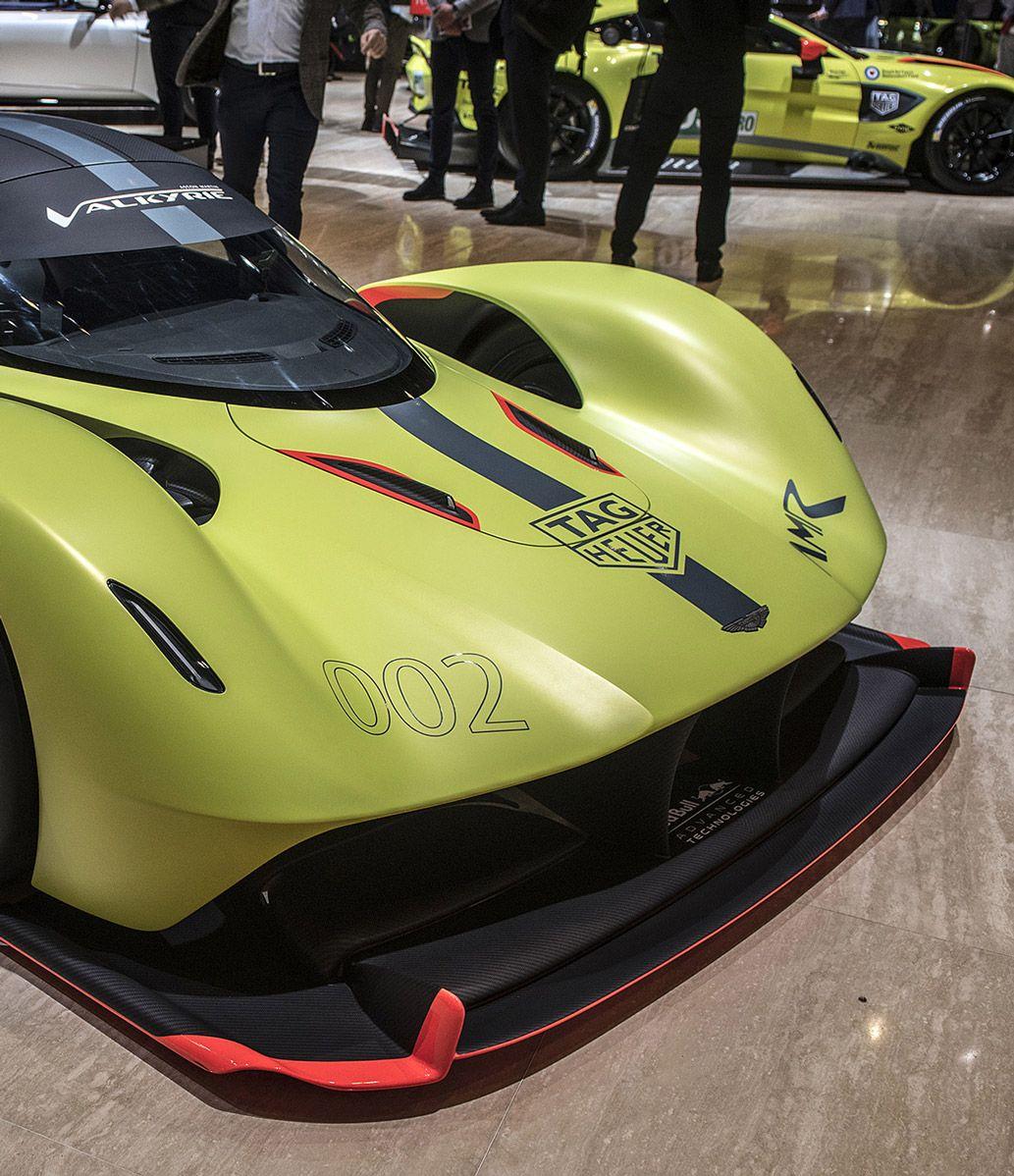Aston Martin Valkyrie Sport: Aston-martin Valkyrie Geneva (With Images)