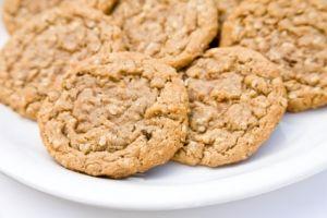 Healthy Banana peanut butter cookies