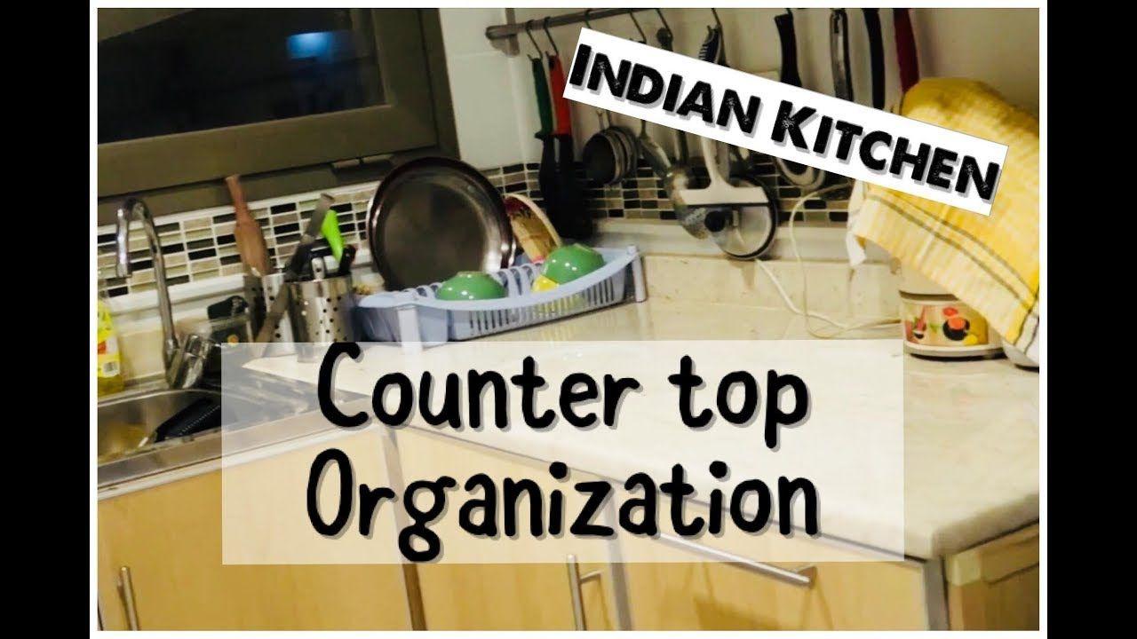 Kitchen Organization Countertop Organization Ideas In Rented House