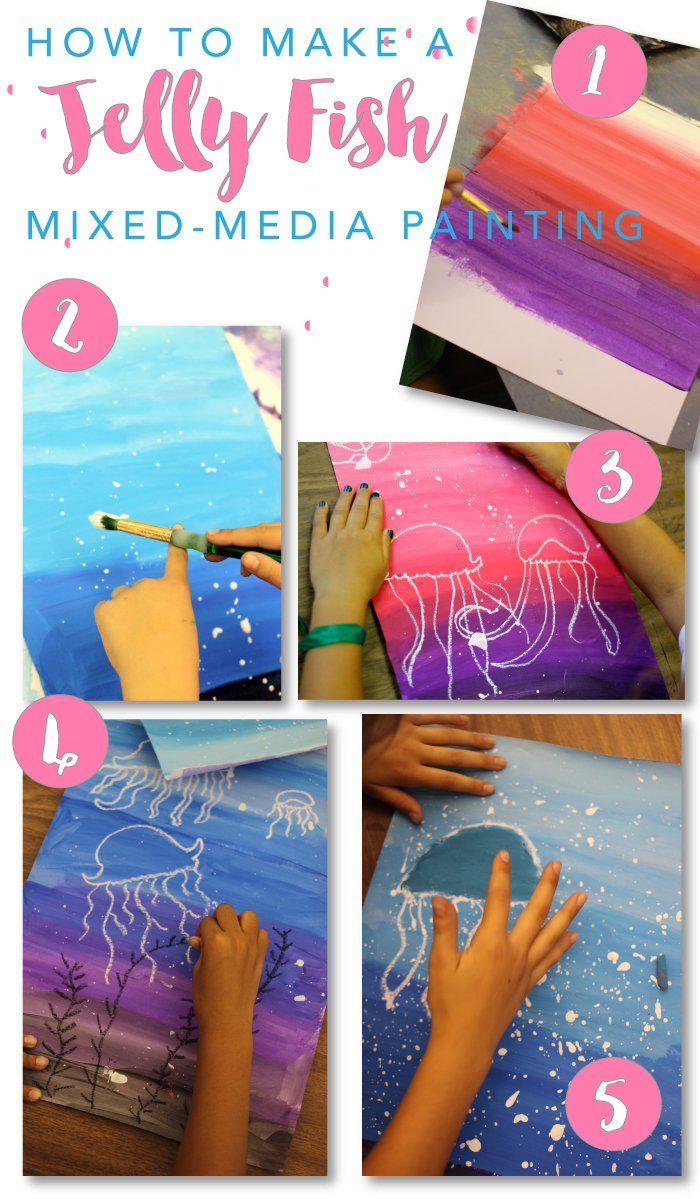 Jellyfish Art Project