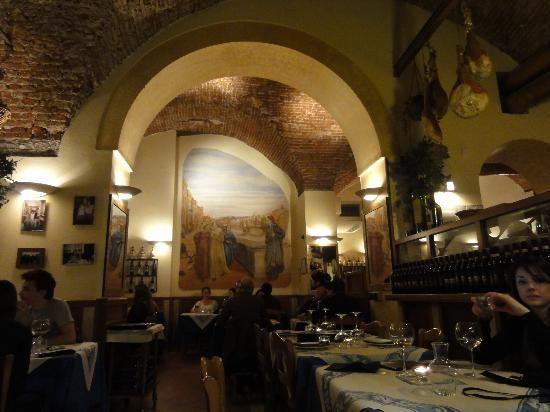 Dante's restaurant in Florence