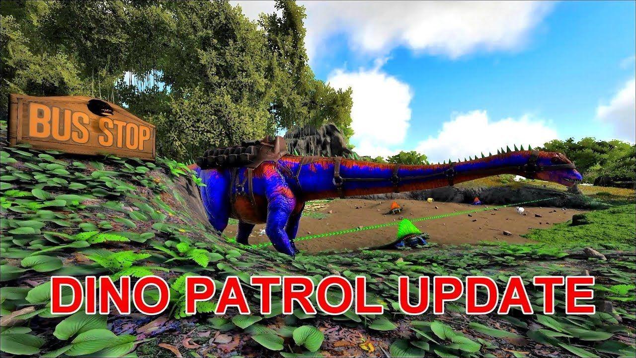 Dino Patrol Update Stasis Prevention Aerial Waypoints Aerial