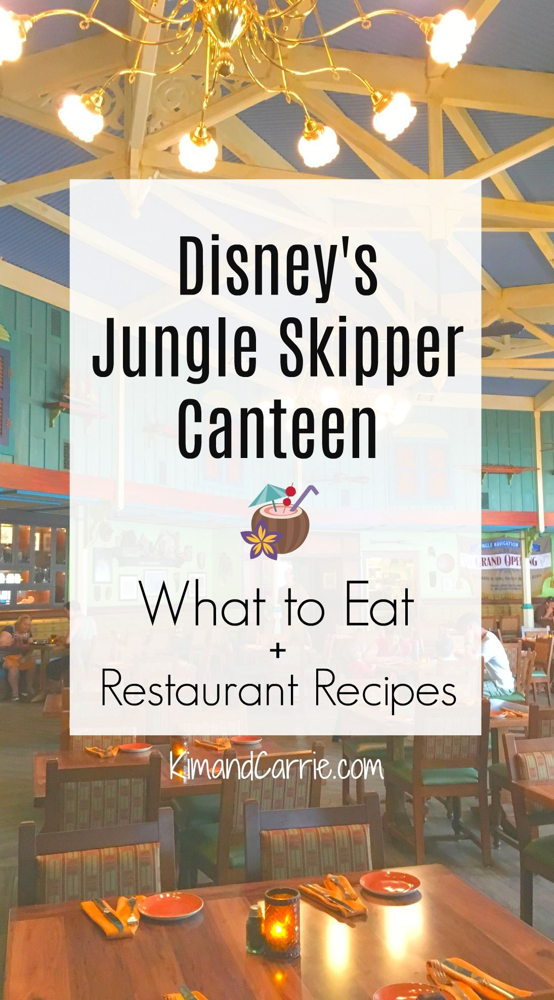 Skipper Canteen A Jungle Cruise Inspired Restaurant At