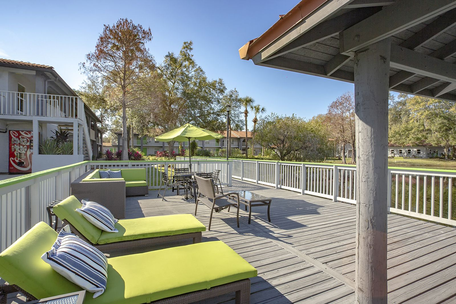 Soak Up The Sun On Our Sundeck Overlooking The Beautiful Lake Ulake Tampa Fl Studentliving Apartments My Outdoor Furniture Sets Apartment Student Living
