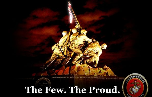 the few the proud the marines poster | Us, marines, the ...