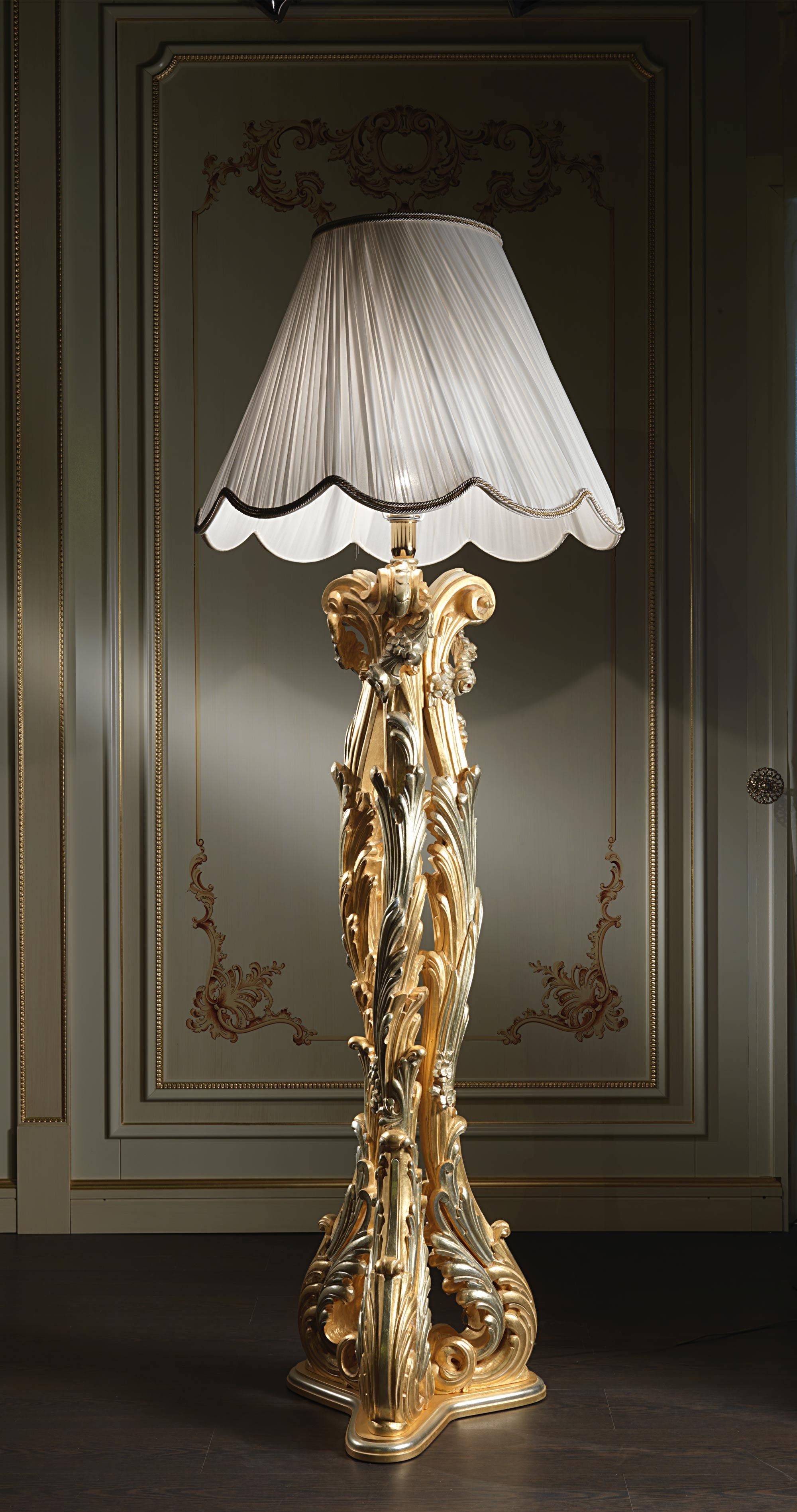 Luxury Floor Lamp In Baroque Style Classic Floor Lamps Baroque Floor Lamp Classic Furniture