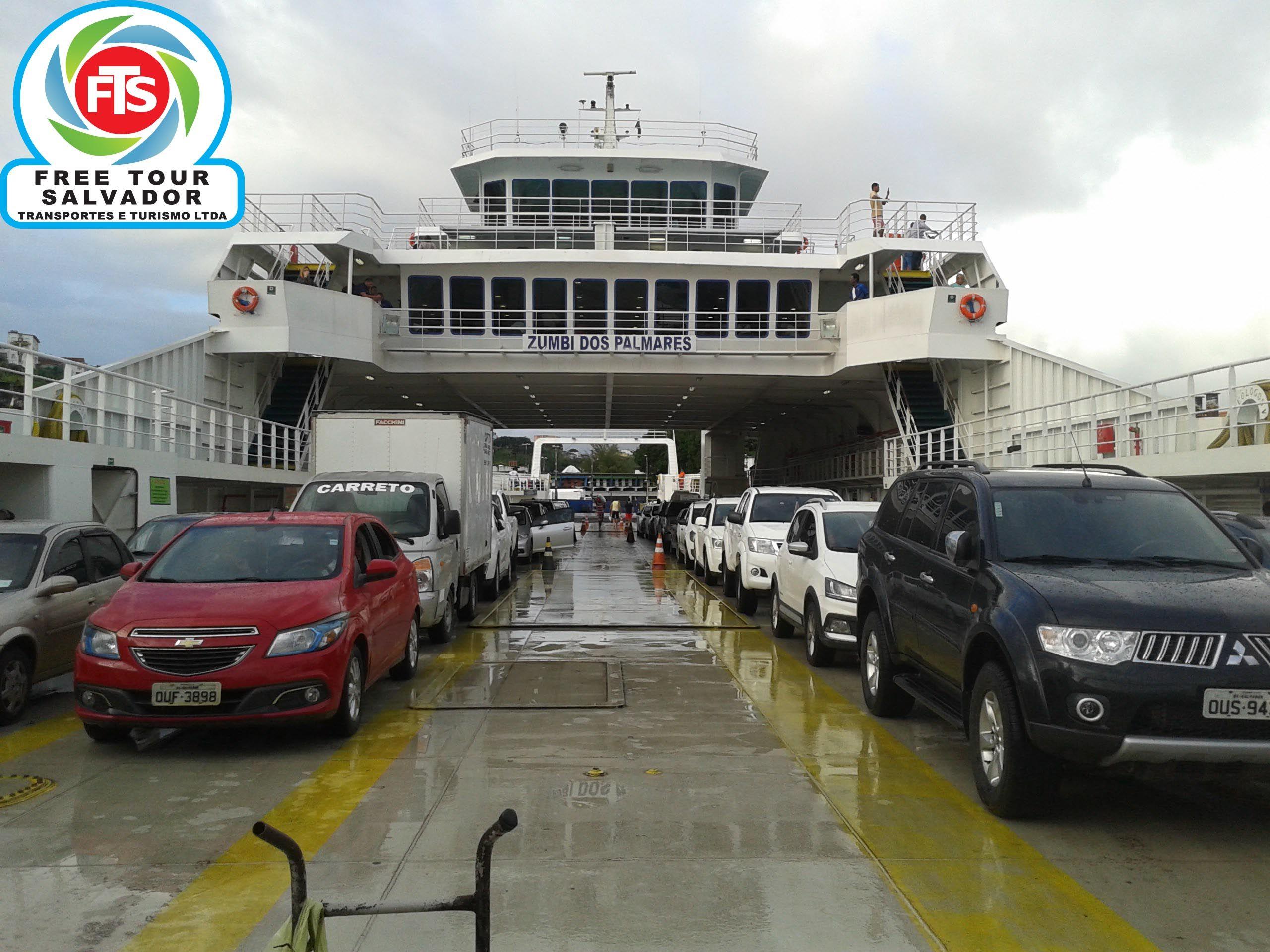 Ferry Boat Travessia Salvador Itaparica Aeroporto De