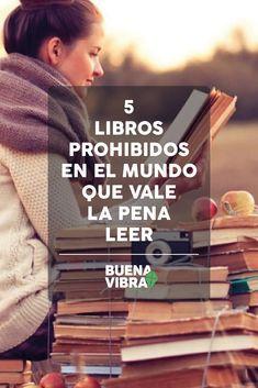 Cinco libros prohibidos en el mundo que vale la pena leer