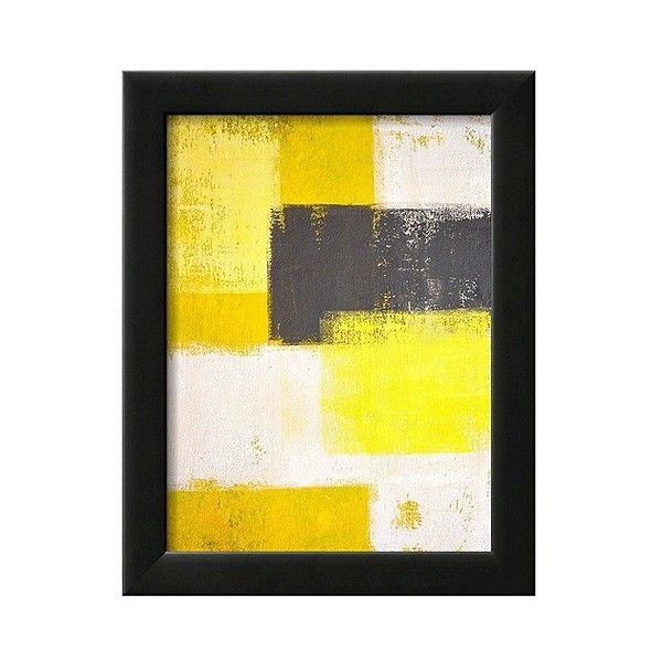 Art.com Framed Wall Poster Print Grey And Abstract ($85) ❤ liked on ...