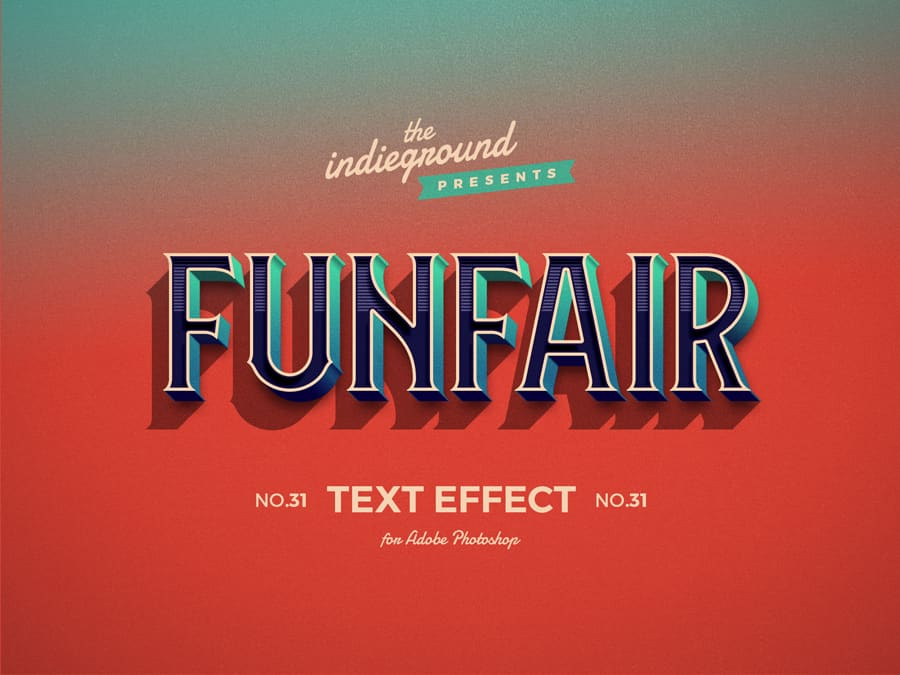 Retro Vintage Text Effect N 39 Indieground Design Retro Text Vintage Text Text Effects