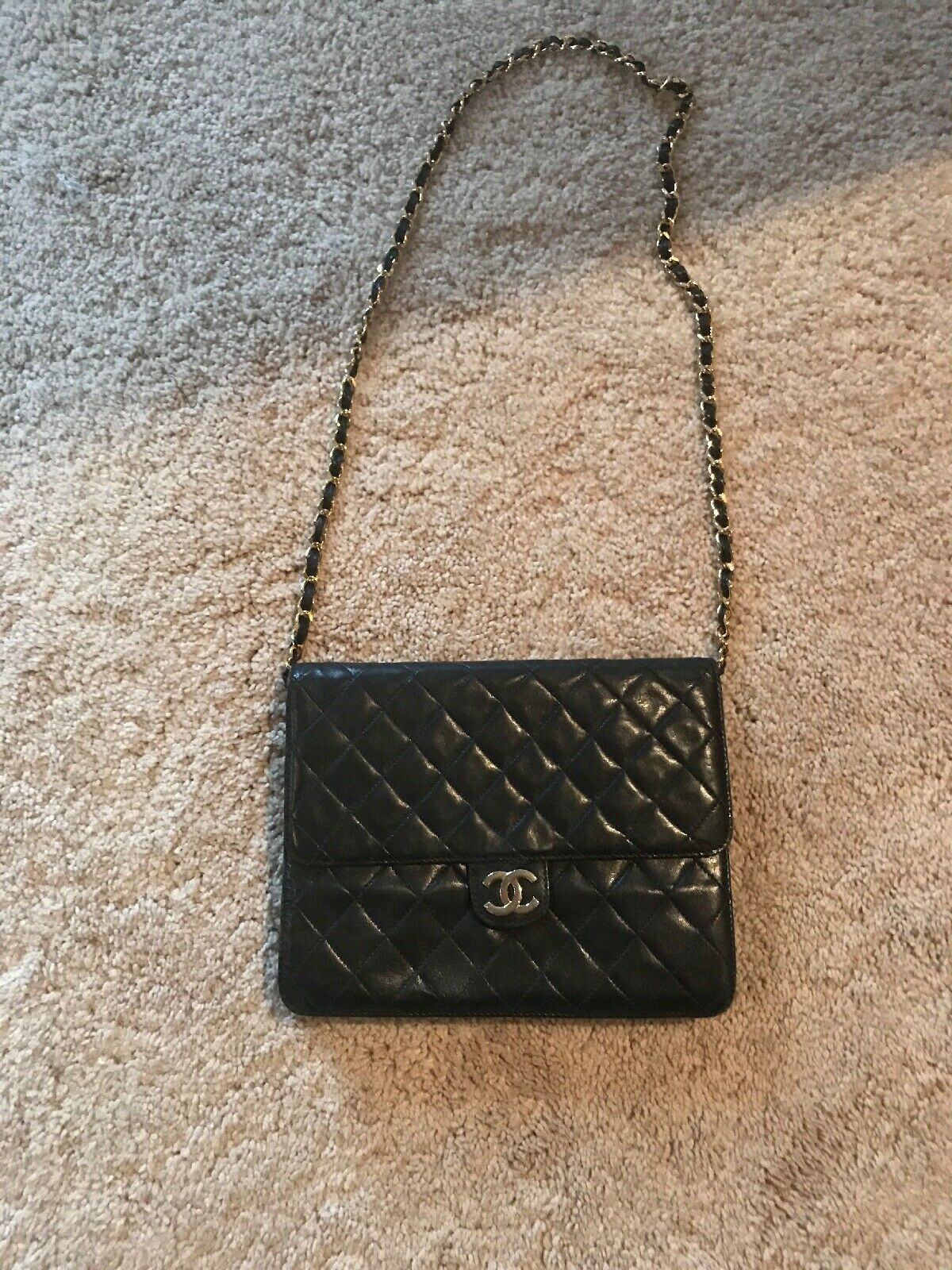 Vintage Chanel Quilted Purse Luxurybags Chanel Chanelhandbags Quilted Leather Tote New Chanel Bags Quilted Purses