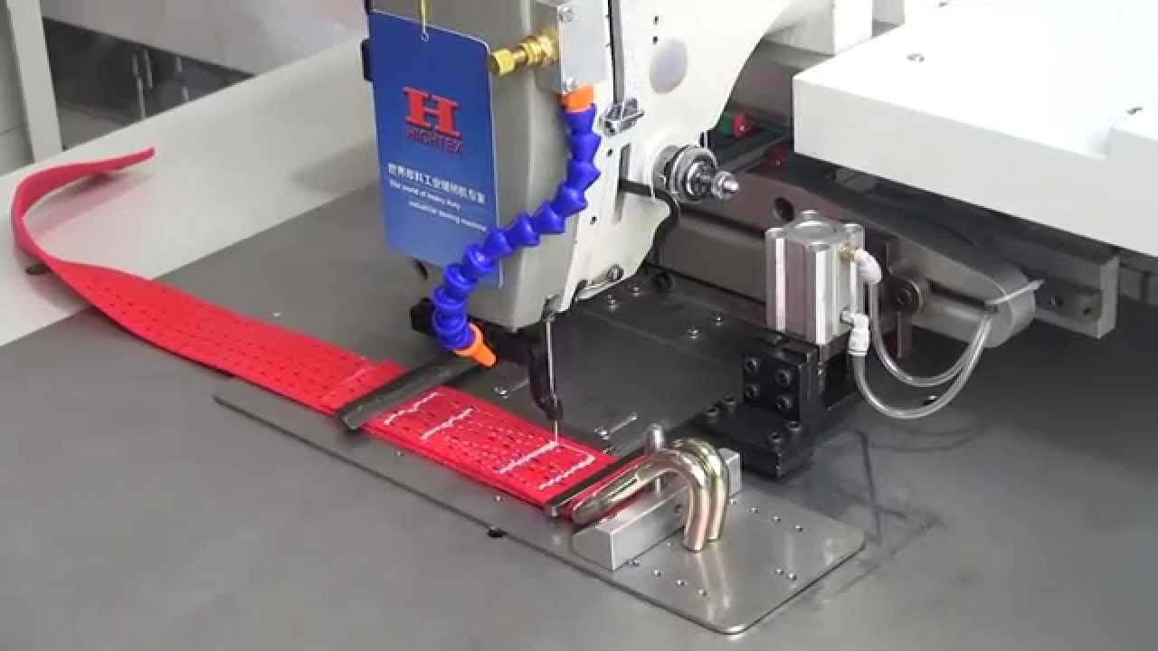 High speed heavy duty pattern sewing machine with