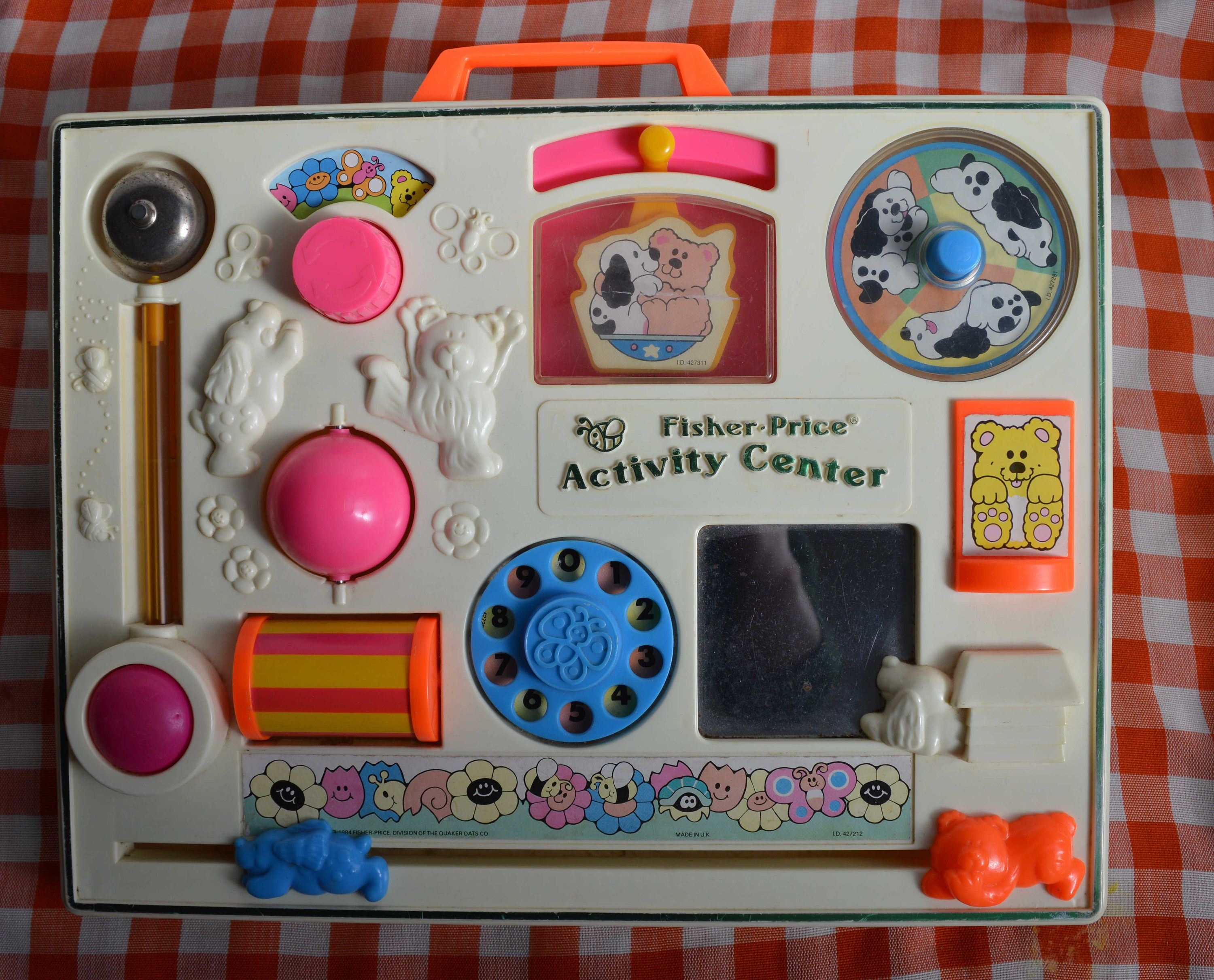 Vintage FISHER PRICE Activity Centre 134 1134 vintage toy for