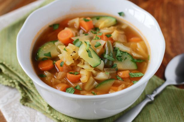 Make And Share This Garden Vegetable Soup Recipe From Food Com