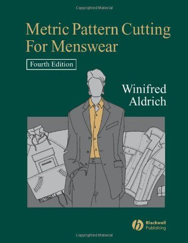 Metric pattern cutting for menswear by winifred aldrich books we metric pattern cutting for menswear by winifred aldrich fandeluxe Image collections