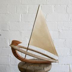 Handmade Miniature Boat: Jupiter