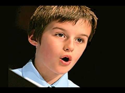 Moray West Boy Soprano Sings Bist Du Bei Mir Sopranos Singing Music Education