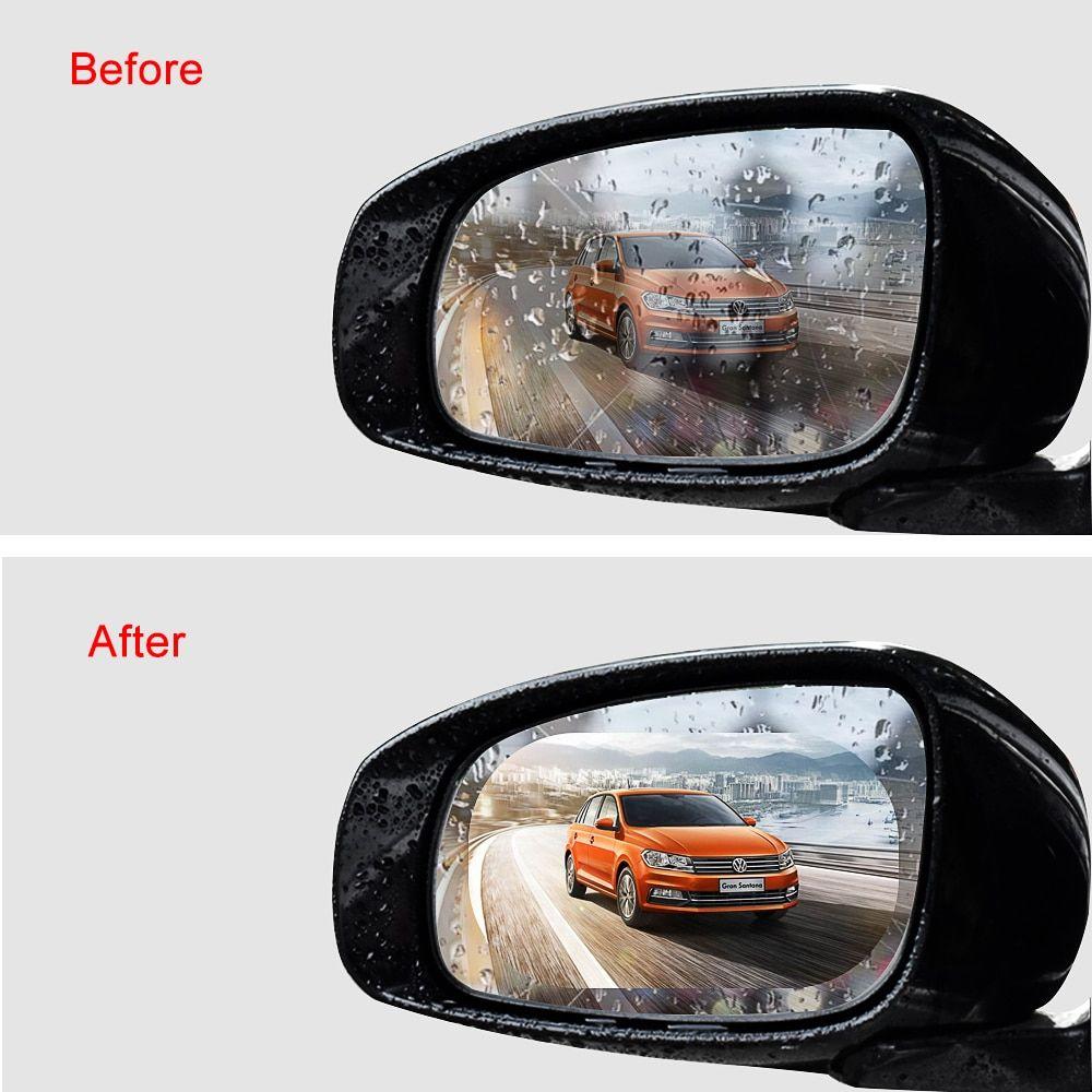 2pcs Set Anti Fog Car Mirror Window Clear Film Anti Rain Car Rearview Rockcoo Car Mirror Car Rear View Mirror Rain Car [ 1000 x 1000 Pixel ]