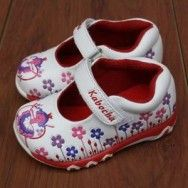 Sepatu Anak Perempuan Dengan Motif Bunga Bunga Yang Lucu Warna